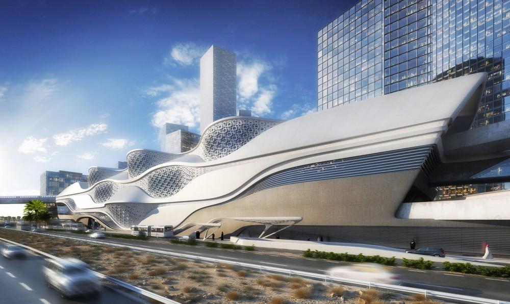 519513f7b3fc4bcd1600000b_zaha-hadid-architects-selected-to-design-the-king-abdullah-financial-district-metro-station-in-saudi-arabia-_kafd_metro_statio-1000x596