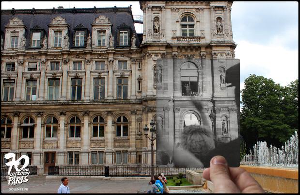 Golem13-Paris-Liberation-1944-DeGaulleHotelDeVille