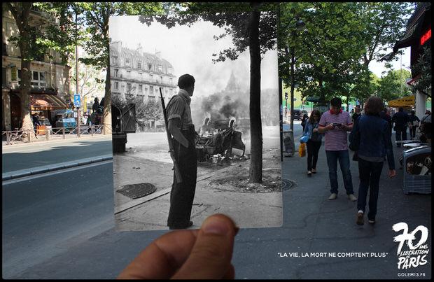 Golem13-Paris-Liberation-1944-StMichel-Doisneau